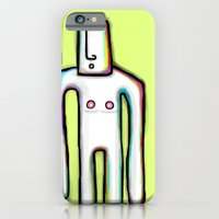 iPhone & iPod Case featuring Shado Uno by Mini Finger