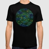 Intricate Nature  Mens Fitted Tee Black SMALL