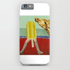 Ferdinand the Giraffe and the yellow popsicle Slim Case iPhone 6s