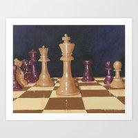 Your Move Art Print