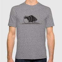 Kittypillar Mens Fitted Tee Athletic Grey SMALL