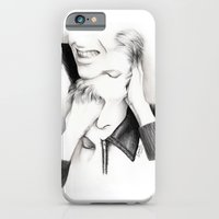 iPhone & iPod Case featuring DECONSTRUCTION OF DAVID BOWIE  by Dianah B