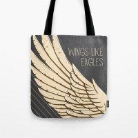 Isaiah 40:31 Wings Like … Tote Bag