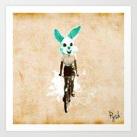 wabbitz Art Print