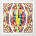 All The Pretty Squares Art Print