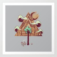 The Evergreen Art Print