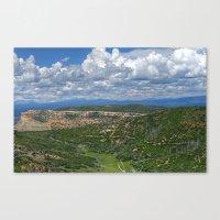 Clouds Over Mesa Verde Colorado Canvas Print
