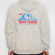 Visit Twin Peaks (hot pink) Hoody