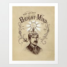 The Legacy of the Bright Mind Art Print