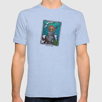 Joan of Arc Mens Fitted Tee Athletic Blue SMALL