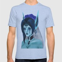 Morgana: Fallen Angel Mens Fitted Tee Athletic Blue SMALL