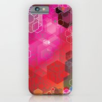 iPhone & iPod Case featuring hexagons by Ataxk SieSeiS