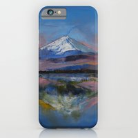 iPhone & iPod Case featuring Mount Fuji by Michael Creese