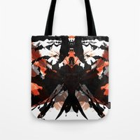 Rorschach Samurai Tote Bag