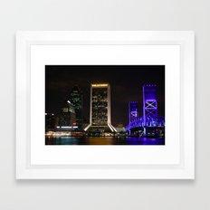 Jacksonville, Florida Framed Art Print