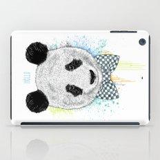 Hello Panda iPad Case