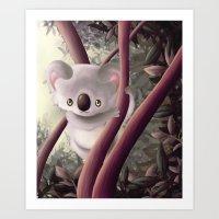 Kappa Koala Art Print