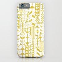 Golden Doodle arrows iPhone 6 Slim Case