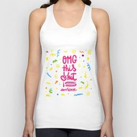 OMG this shit is awesome Unisex Tank Top