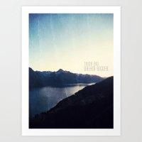 Think Big, Dream BIGGER Art Print