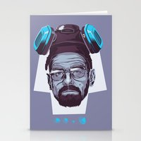 breaking bad Stationery Cards featuring BREAKING BAD by Mike Wrobel