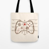 Controller Map Tote Bag
