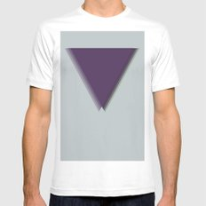 Creation Mens Fitted Tee SMALL White