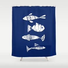 Sea fishes Shower Curtain