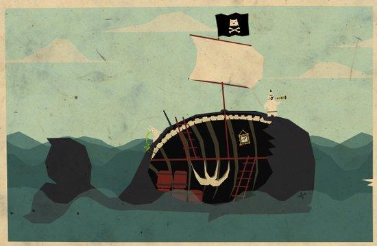 Whaleboat Art Print