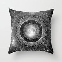 Major Tom (floating In M… Throw Pillow