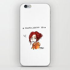 JUDGING YOU iPhone & iPod Skin