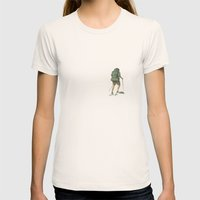 Backpacking: Solitude Womens Fitted Tee Natural SMALL