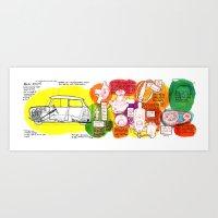 Mini Cooper Classic (ADO… Art Print