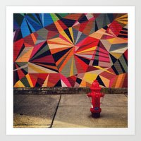 Urban Color Art Print