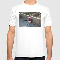 Nina. Mens Fitted Tee White SMALL