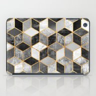 Black & White Cubes iPad Case