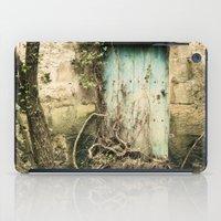 Puerta azul  iPad Case