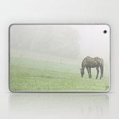 Leopard in the mist.  Laptop & iPad Skin