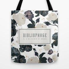 Bibliophage Tote Bag