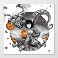 BounD: Halloween Canvas Print
