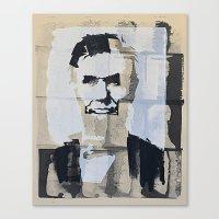 Abraham Lincoln (make-ready) Canvas Print