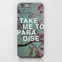 iPhone & iPod Case featuring Take Me To Paradise by Sandra Arduini