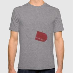 a pill Mens Fitted Tee Athletic Grey SMALL