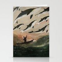 Minke Whale Migration Stationery Cards