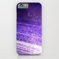 Purple galaxy iPhone 6 Slim Case