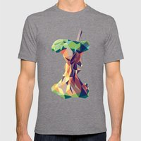 Keep Thinking Different. Mens Fitted Tee Tri-Grey SMALL