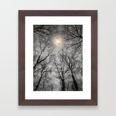 Nature Blazes Before Your Eyes 2 (Ash Embers) Framed Art Print