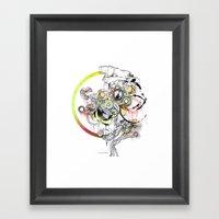 bouquet 3 Framed Art Print