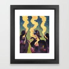 The Estranged Community Framed Art Print
