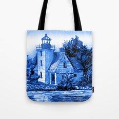 Light House: Blues Tote Bag